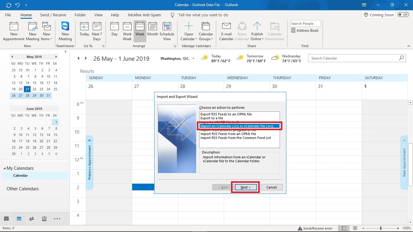 How to Export Routes to an Outlook Calendar (WebApp