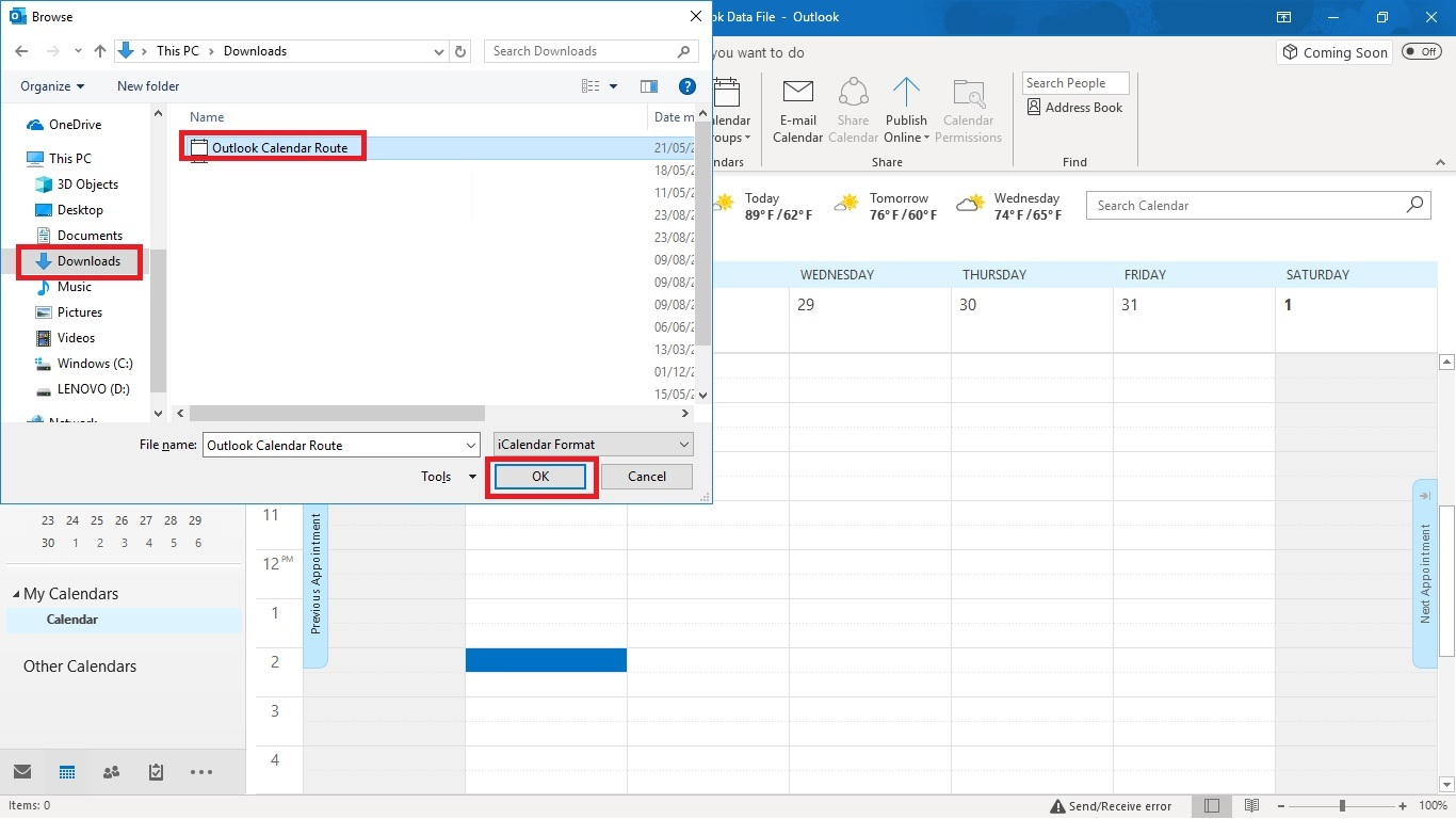 How to Export Routes to an Outlook Calendar (WebApp) - Badger Maps