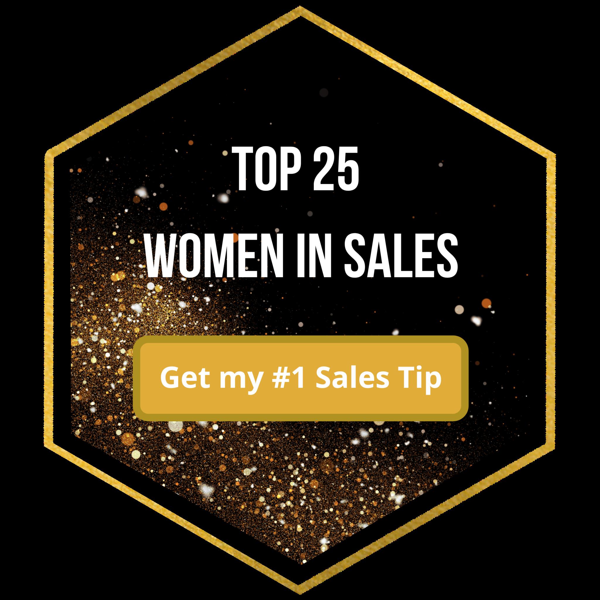 Top Women in Sales