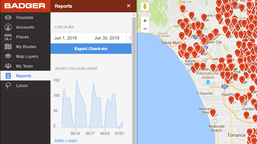 Introducing Check-in Reports for Better Sales Insights