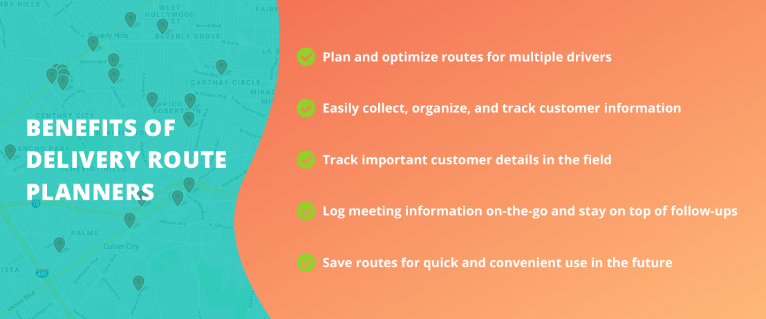 Benefits of Delivery Route Planners