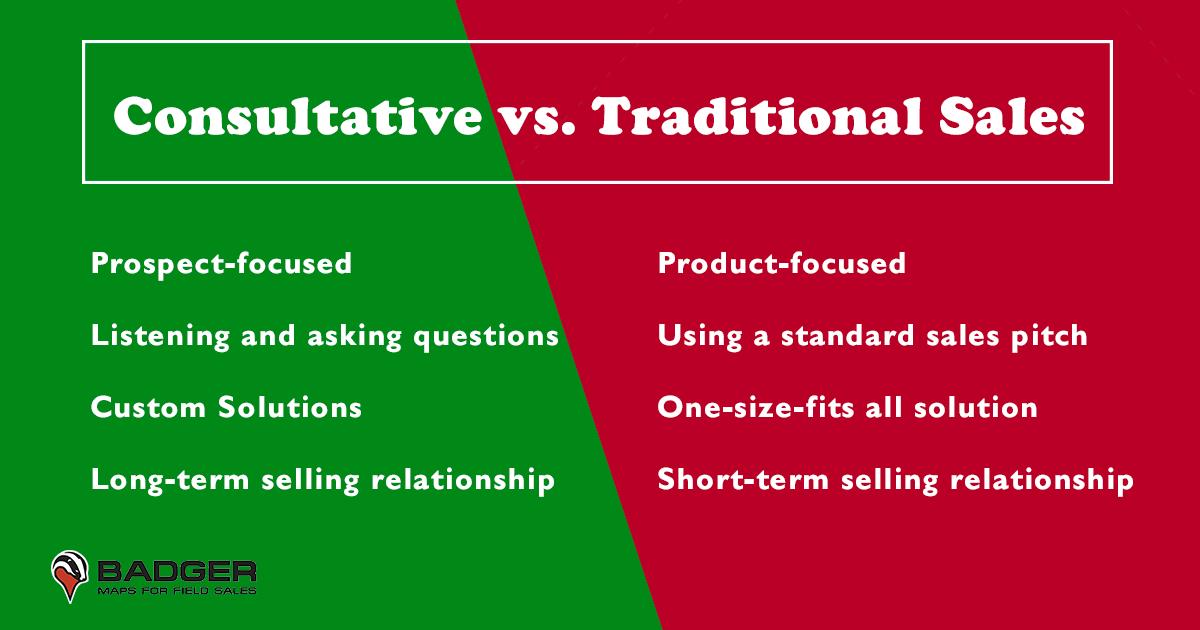 Consultative vs. Traditional Sales