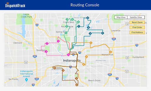 DispatchTrack route planner