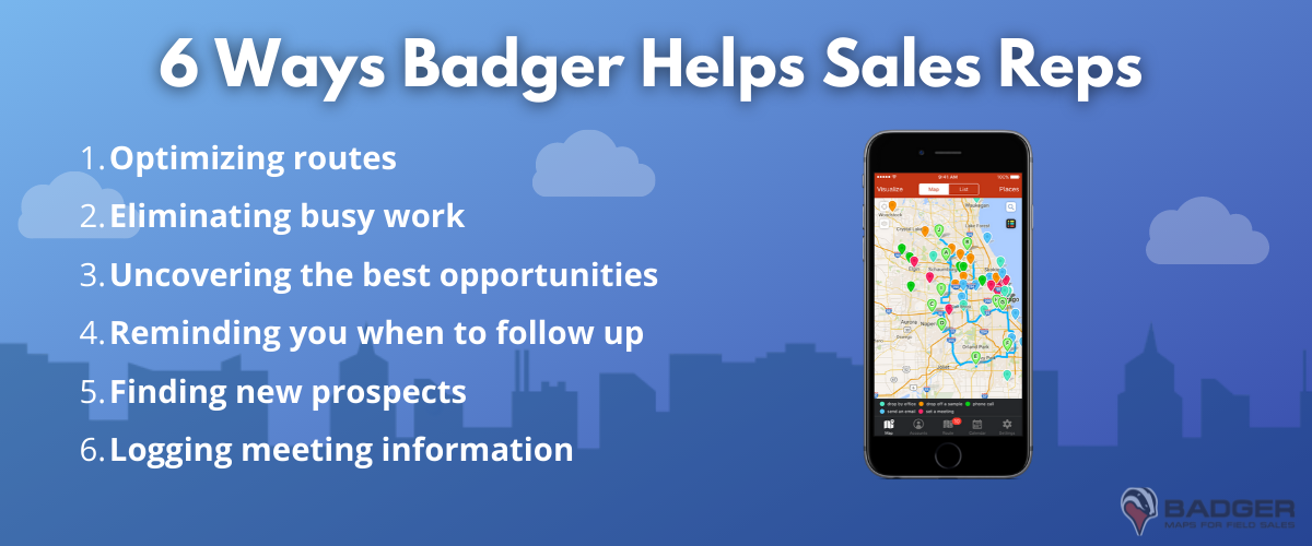 sales rep route planner