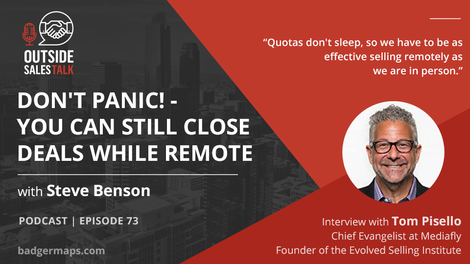 Don't Panic! - Here's How you Can Still Close Deals While Remote