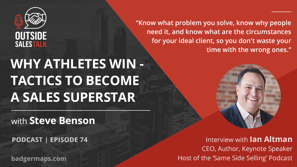 Why Athletes Win - Tactics to Become a Sales Superstar