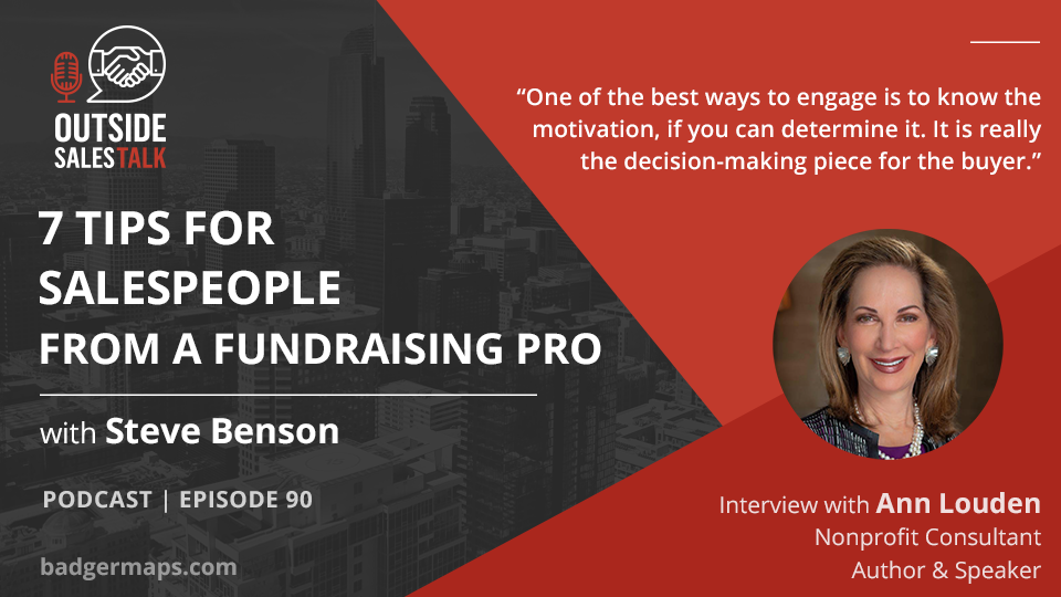 7 Tips for Salespeople from a Fundraising Pro - Outside Sales Talk with Ann Louden