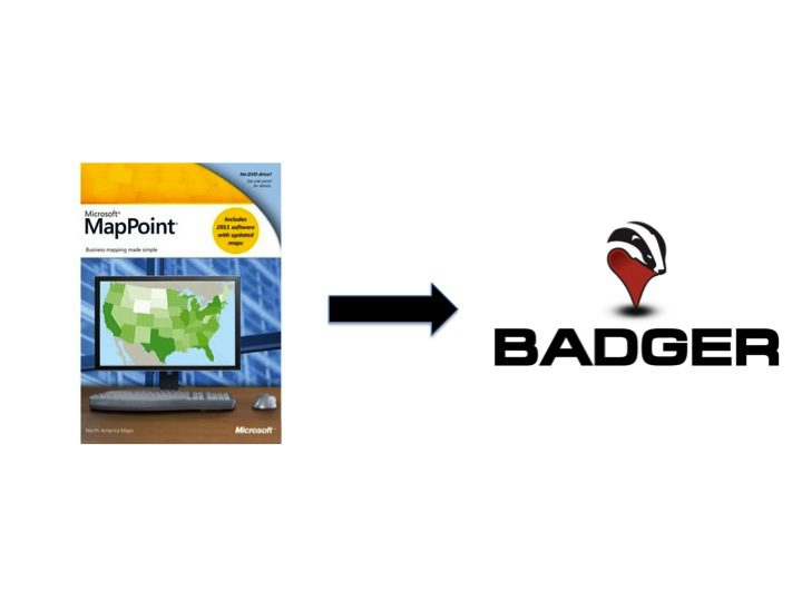 Get a MapPoint Replacement on Your Mac or Phone - Badger Maps