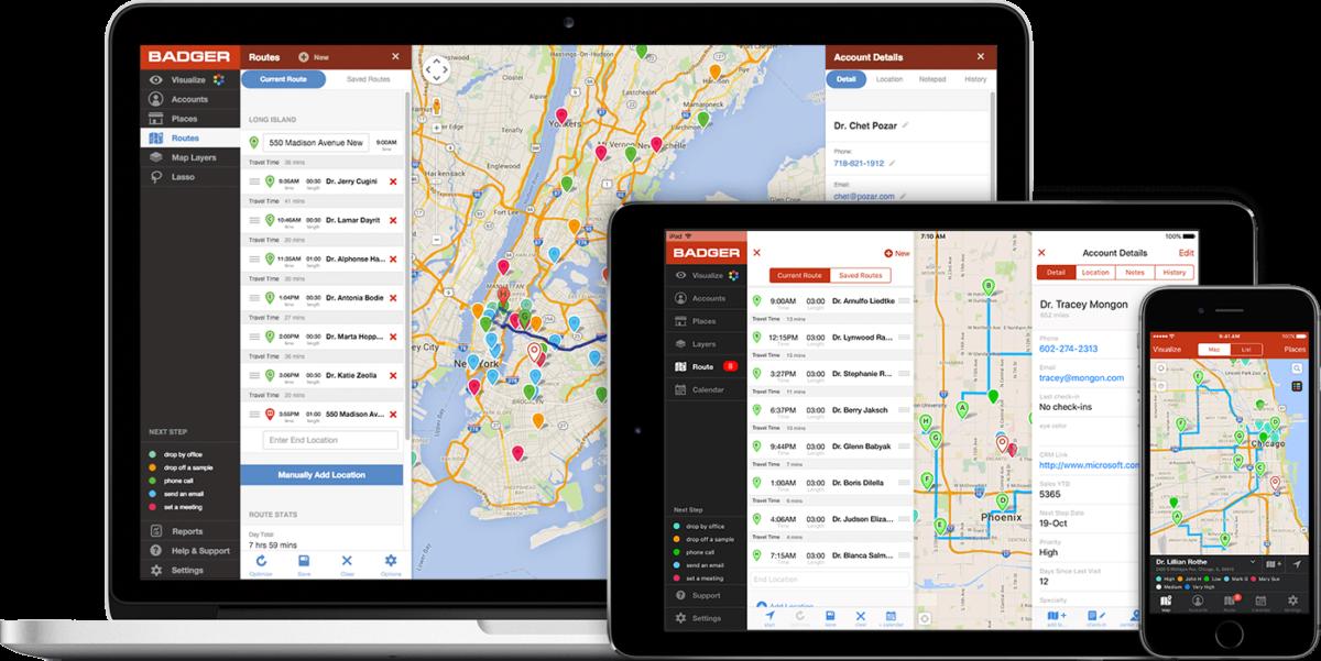 Best Travel Apps For Sales Reps - Badger Maps